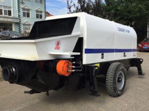 electric concrete trailer pump