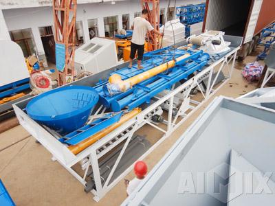 transportation of aimix concrete batching plant