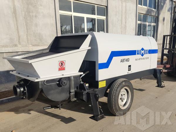 Concrete Trailer Pumps for sale