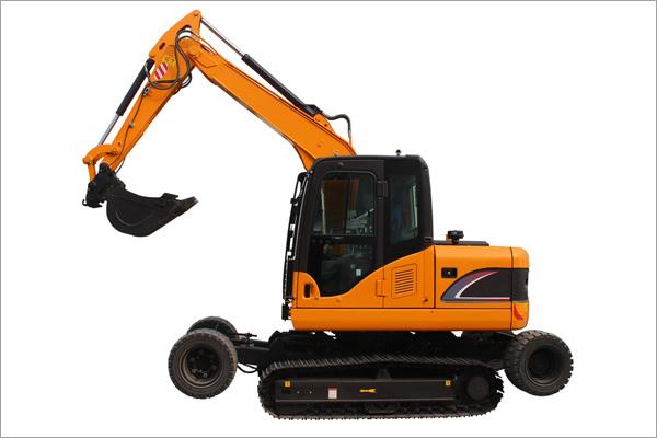 Wheel-Crawler Excavator