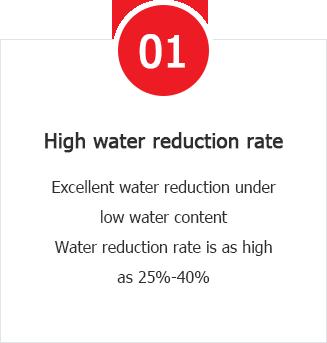 Advantages of Aimix Concrete Water Reducer Admixtures: