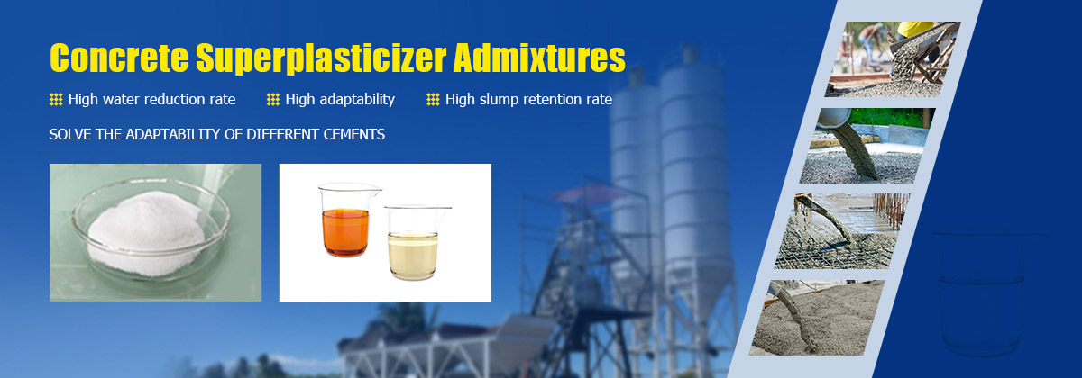 concrete water reducer admixture