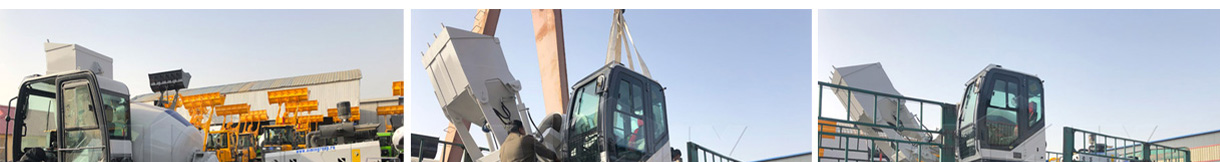 Aimix AS-1.2 Self Loading Concrete Mixer Was Sent To Russia