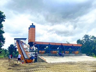 AJ60 concrete batching plant