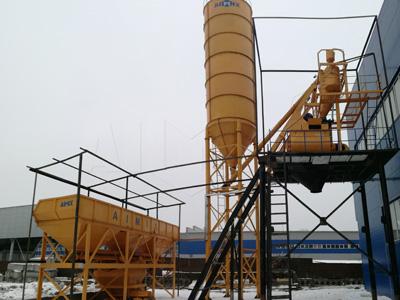 AJ75 concrete batching plant