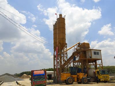 AJ90 concrete batching plant