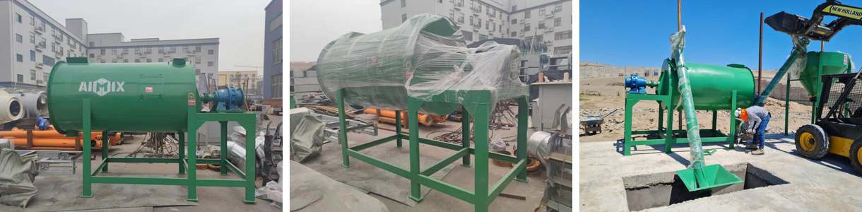 Aimix Dry Mortar Mix Plant Has Been Installed In Peru