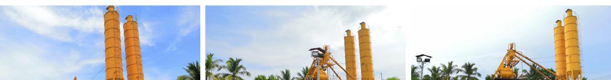 AJ35 concrete batching plant in Philippines
