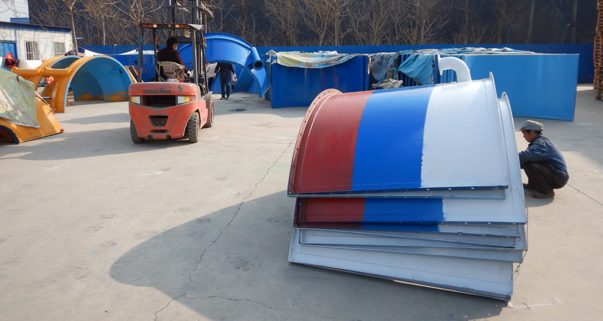 Aimix 50 ton bolted cement silo was shipped to Syria