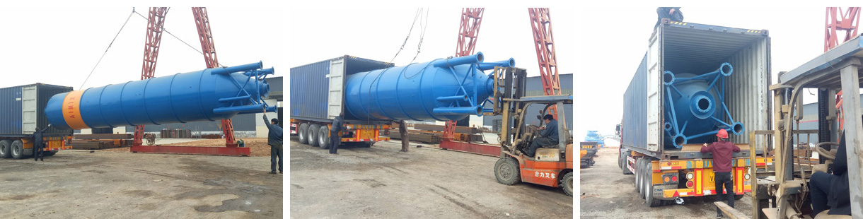 Aimix 50 Ton Welded Cement Silo Was Deliveryed To Pakistan