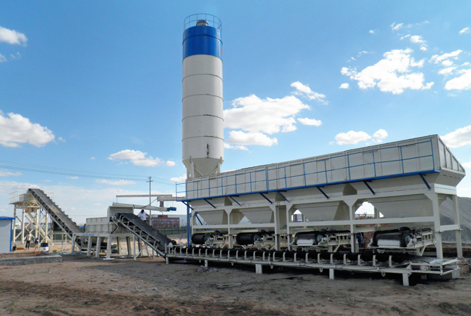 Cement Silo Used In Stabilized Soil Mixing Plant