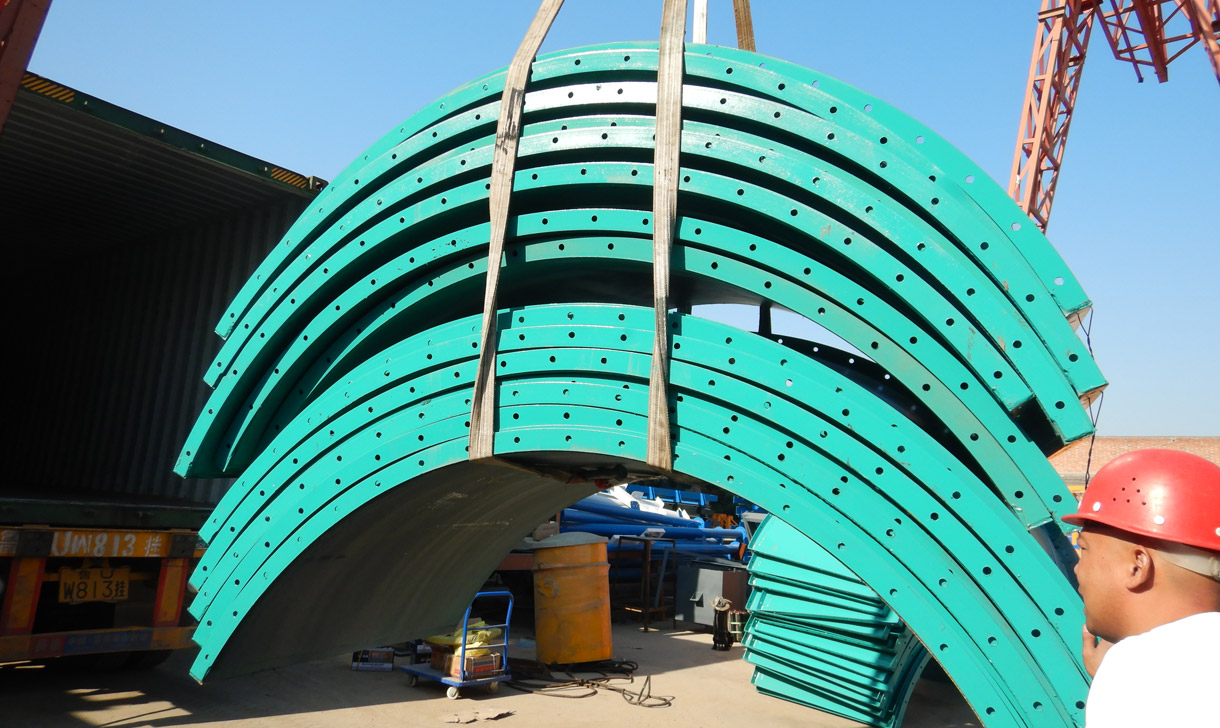 Two Set Of 100 Ton Bolted Cement Silos Was Shipped To Philippines