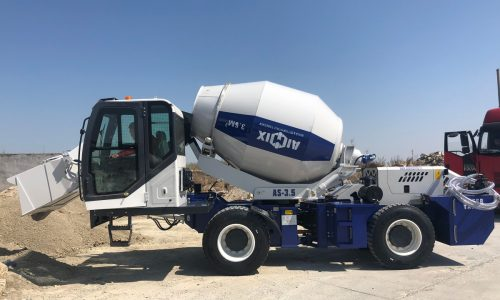2 Sets Of Aimix Self Loading Concrete Mixers Were Sent To Kazakhstan