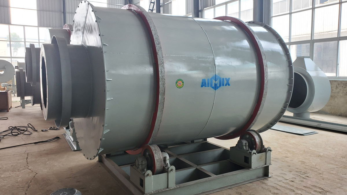 Aimix 10 t Dry Mortar Mixer Was Shipped To Indonesia