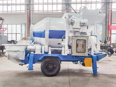 ABJZ40D electric concrete mixer pump