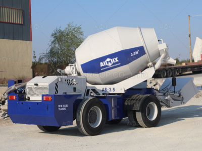 AS3.5 self laoding concrete mixer