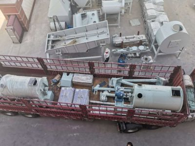 Aimix 3 Tons Dry Mortar Mixing Plant Was Shipped To Malaysia