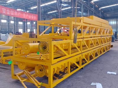 Aimix AJ90 Concrete Batching Plant Began To Transported to Indonesia