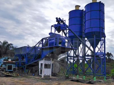 Aimix AJY60 Concrete Batching Plant In Malaysia