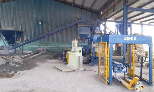 ABM4S Block Making Machine In Kuching Malaysia