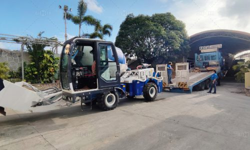 Aimix AS1.8 Self Loading Concrete Mixer Was Delivered To Cavite Philippines
