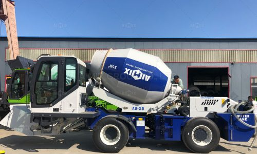 Aimix AS3.5 Self Loading Concrete Mixer Was Delivered to Indonesia