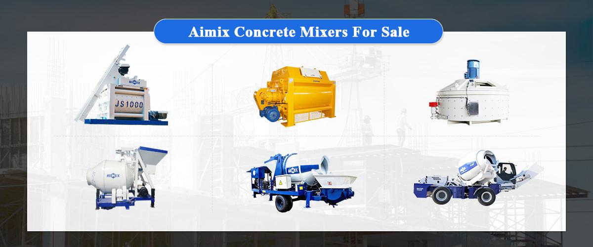 Aimix concrete mixer